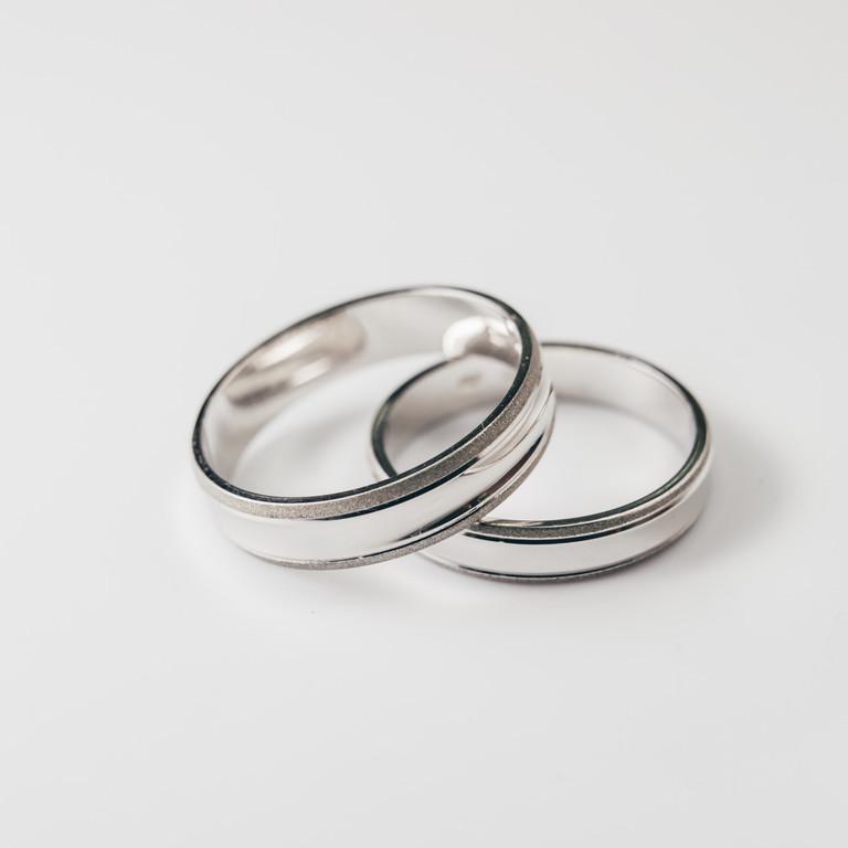 Obrączki ślubne jednokolorowe; M-5